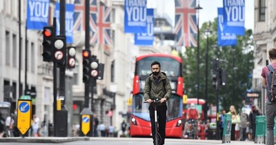"""Economía británica se enfrenta a su peor recesión """"en 300 años"""" por la pandemia"""