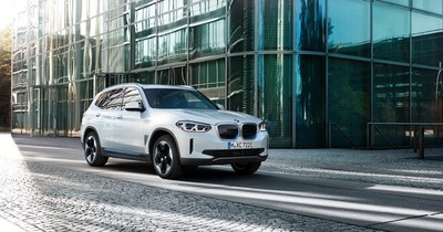 BMW estrenó iX3, su primer SUV 100% eléctrico
