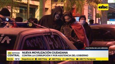 Nueva movilización ciudadana contra la corrupción en Asunción