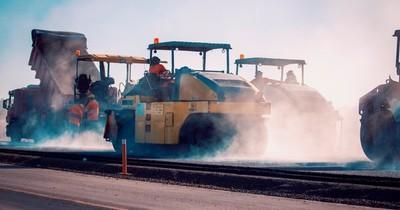 Ruta PY02: obras de duplicación avanzan sin pausa