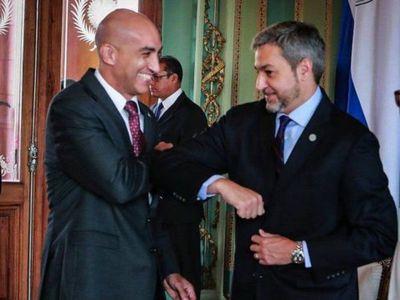 Marito aseguró que Mazzoleni seguirá en el cargo