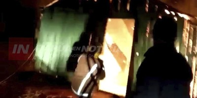 ITAPÚA POTY: INCENDIO TOTAL DE UNA VIVIENDA EN TAKUAPI I