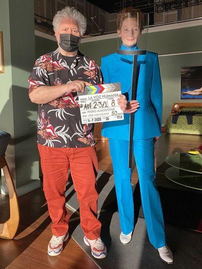 Arranca el rodaje de cortometraje de Pedro Almodóvar con Tilda Swinton
