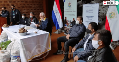 Impulsarán la creación de un Centro de Biotecnología para la producción de papa en Itapúa