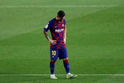 Messi da la voz de alarma en el Barça