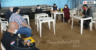 Autoridades analizan la inseguridad en los barrios de Encarnación