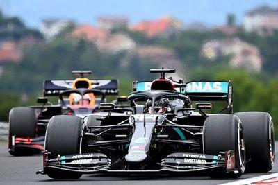 Hamilton, el mejor en seco, y Vettel, sobre mojado