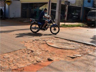 Reclaman a  la Essap que  avenidas de  Fernando estén  destrozadas por obras