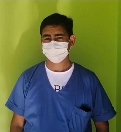 Con grandes desafíos asumió nuevo director del Hospital de Curuguaty