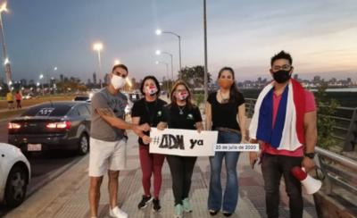 """HOY / #ADNYa: Presencia masiva en caravana por la justicia de 'El Rasta', """"Vamos a seguir luchando"""""""