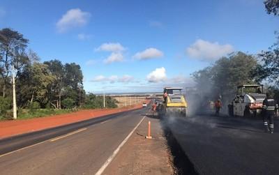 Duplicación Ruta PY02: avanzan obras desde San José de los Arroyos hasta Coronel Oviedo