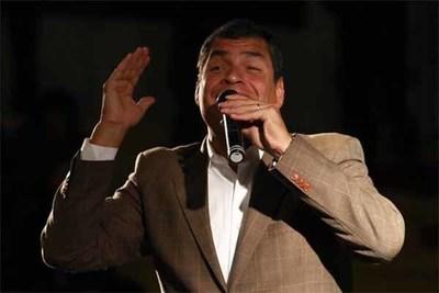Ecuador: Ratifican condena de Rafael Correa