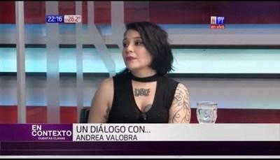 Andrea Valobra reveló que amigos y fans la ayudan a sobrevivir económicamente