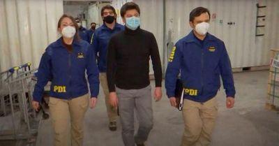 Chileno acusado de homicidio de exnovia japonesa es extraditado a Francia