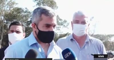 Abdo Benítez afirma que dará pelea por su partido