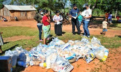 Itaipú ya entregó 46.000 kg de alimentos a familias indígenas de su zona de influencia