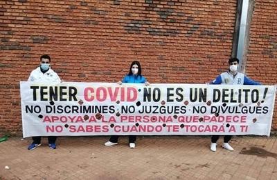 """HOY / """"Tener Covid-19 no es un delito"""""""