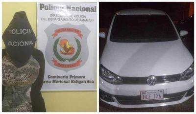 Tras persecución policial y resistencia detuvieron a una brasileña en Pedro Juan Caballero