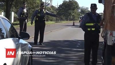 PATRULLA CAMINERA EXTIENDE PLAZO PARA CONTROL DE DOCUMENTOS DE VEHÍCULOS.