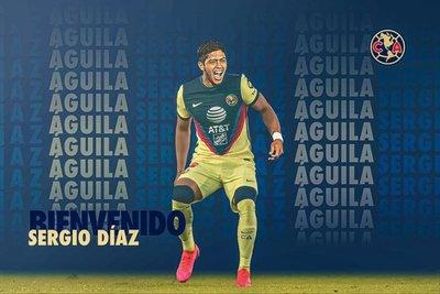 América presenta oficialmente a Sergio Díaz