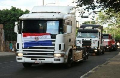 Camioneros piden garantías para trabajar en Ciudad del Este