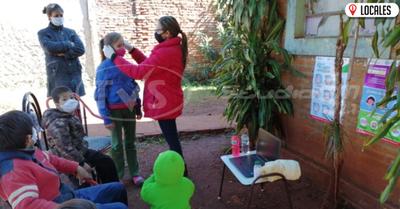 En Encarnación, capacitan a los niños sobre las medidas de prevención del covid-19