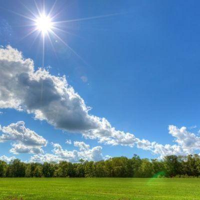 Meteorología pronostica un soleado inicio de semana