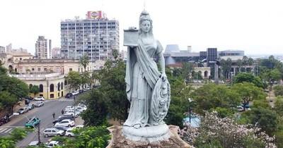 El monumento más antiguo de Asunción está en peligro de desplome