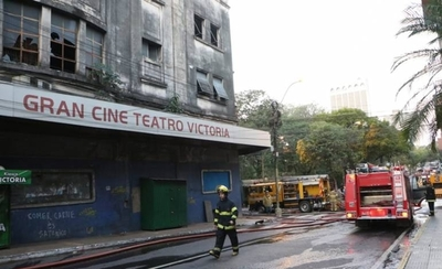 HOY / SNC lamenta incendio en excine Victoria e insta a propietarios y autoridades a preservar patrimonio cultural