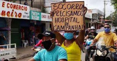 Brasil supera 94.000 muertes por coronavirus, registra 25.800 casos nuevos en últimas 24 horas