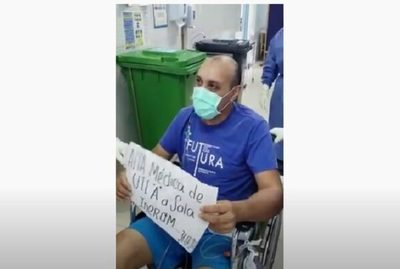 Paciente con cuadro de Covid-19 sale de terapia intensiva