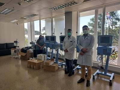 Salud dota de 14 respiradores y concreta nuevas UTI en el Este