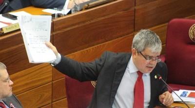 Algunos dirigentes quieren la unidad en la ANR solo por conveniencia, lamenta senador