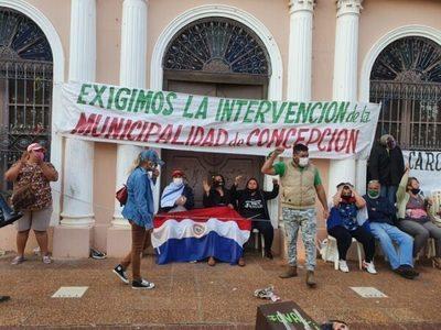 Ocupan acceso de comuna de Concepción y piden intervención