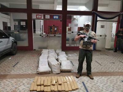 Incautan más de 430 kilos de marihuana en Yby Yaú